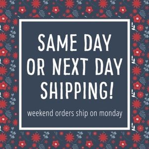 same day if purchase before noon